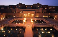 Oberoi hotel Amarvilas, entrance, Agra, Uttar Pradesh, India