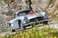 Mercedes Benz 300 SL, vintage car, year of construction 1954, Ennstal-Classic 2007, Austria