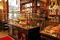 Cafe Demel, Kohlmarkt, interior (Austria, Vienna)