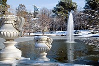 Frozen pond, Buen Retiro Park, Madrid, Spain (January 11th, 2010)