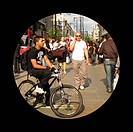 Normal vision. Patient´s_eye view of a busy city street, in a person with normal vision. For the same scene, seen by patients with various eye disorde...