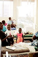 Children´s hospital ward. Photographed at St. Mary´s Hospital in Lacor, Gulu, Uganda.