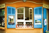 Wine shop in St. Tropez, Provence, France
