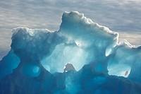iceberg at Sermilik Fjord, Greenland, Ammassalik, East Greenland, Tiniteqilaq