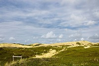 national reservation in the dunes of Sylt, Germany, Schleswig_Holstein, Sylt, Rantum