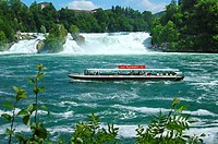 The Rhine Falls Neuhausen Switzerland