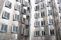 Gehry buildings, Duesseldorf, North Rhine-Westphalia, Germany, Europe