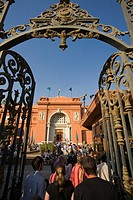 Main door. Egyptian Museum. El Cairo. Egypt