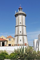 Lighthouse at Cascais near Lisbon, Portugal, Europe