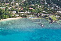 Hotel Le Meridien Fisherman´s Cove in the bay of Beau Vallon, Mahe Island, Seychelles, Indian Ocean, Africa