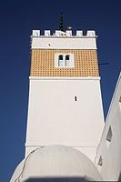 Minaret of Hammamet, Tunisia