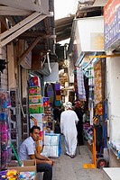 Souk of Mutrah. Ancient Muscat. Omán. Persian Gulf. Arabia, Middle East.