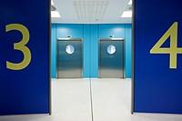 Operating rooms, surgical block. Hospital Policlinica Gipuzkoa, San Sebastian, Donostia, Euskadi, Spain