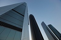 Cuatro Torres Business Area. CTBA. Madrid. Spain