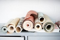 Rolls of Wallpaper