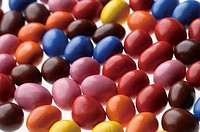 Multicoloured candy