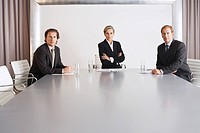 Business Executive Team in Conference Room