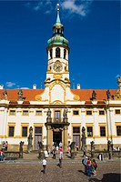 Loreta exterior Hradcany the castle district in Prague Czech Republic Europe
