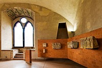 Civic museum, Sforzesco castle, Pavia, Italy