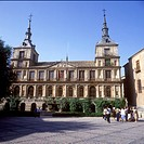 Toledo _ The Town Hall in Plaza del Ayuntamiento, Cathedral Square