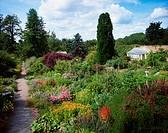 Beechpark, Co Dublin, Ireland, Glasshouse in a garden