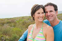 Close-up of a couple smiling (thumbnail)
