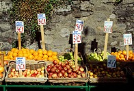 Roy Fox Gourmet Foods, Donnybrook, County Dublin, Ireland, Outdoor fruit market stall