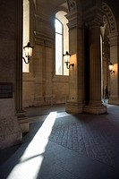 The Louvre, Paris, France, Interior of Parisian art museum