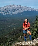 Hiking in the Rocky Mountains, Canmore, Alberta, Canada