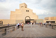Museum of Islamic Art. Doha City. Capital of Qatar. Persian Gulf. Arabia