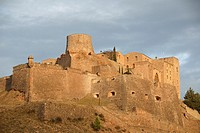 Castle of Cardona. Part of this defense complex built in the 11th century is occupied by the Parador Nacional. Cardona,  Barcelona, Catalonia, Spain, ...