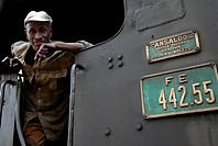 Africa,Eritrea,Asmara,Massawa,old train 1928, built by italian company Ansaldo