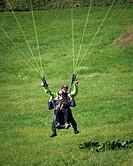 Paragliding, Parachute, Adventure,