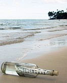 bottle washed ashore