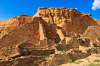 Pueblo Bonito Chaco Culture National Historical Park scenery, New Mexico, United States of America, North America