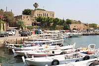 Harbour, Byblos, Jbail, Lebanon, Middle East