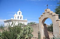 Chapel, San Xavier del Bac Mission, Tucson, Arizona, United States of America, North America ,