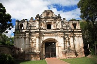 San Jose el Viejo, chapel facade, colonial ruins, Antigua, UNESCO World Heritage Site, Guatemala, Central America