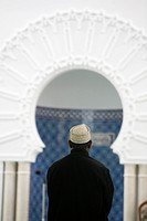 Muslim in Lyon mosque, Lyon, Rhone, France, Europe