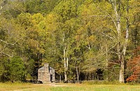 John Oliver Cabin, rustic appalachian mountain cabin, Great Smoky Mountains National Park