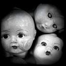Broken old doll
