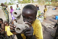 refugee child from CAR living in a camp in Gore Chad made his own camera  Central Afrikan Republic CAR is a forgotten conflict where in the north of C...