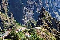 Spain _ Canary Islands _ Tenerife _ El macizo del Teno _ Masca