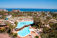 Spain _ Canary Islands _ Gran Canaria _ South Coast _ Maspalomas _ Hotel