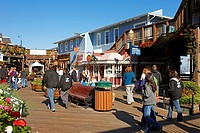 Pier 39  San Francisco, California, USA