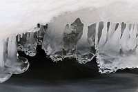Ice formation Norway