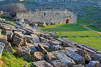 Byzantine town Serjilla 3-6 cent , Syria