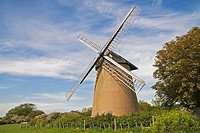 Bembridge Windmill, Isle of Wight, England, UK