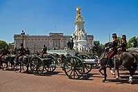 Trooping The Colour, Buckingham Palace, London, UK