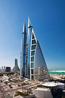 World Trade Center buildings, Manama, Bahrain